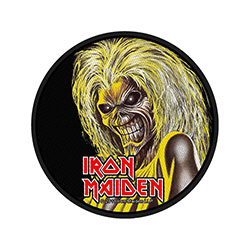 Iron Maiden Standard Patch: Killers (Retail Pack)