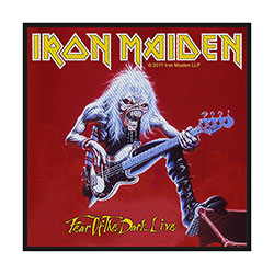 Iron Maiden Standard Patch: Fear of the Dark Live (Retail Pack)