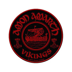 Amon Amarth Standard Patch: Vikings Circular (Loose)