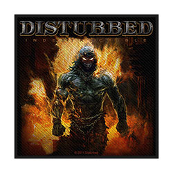 Disturbed Standard Patch: Indestructible (Loose)