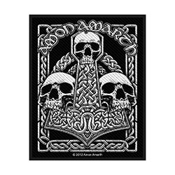 Amon Amarth Standard Patch: Three Skulls (Loose)