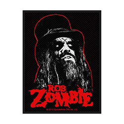 Rob Zombie Standard Patch: Portrait (Loose)
