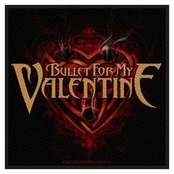 Bullet For My Valentine Standard Patch: Heart Of Holes (Loose)