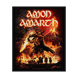 Amon Amarth Standard Patch: Surtur Rising (Loose)
