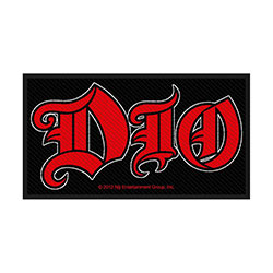 Dio Standard Patch: Logo (Loose)