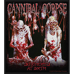 Cannibal Corpse Standard Patch: Butchered at Birth (Loose)