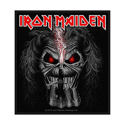 Iron Maiden Standard Patch: Eddie Candle Finger (Retail Pack)