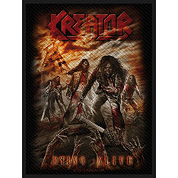 Kreator Standard Patch: Dying Alive (Loose)