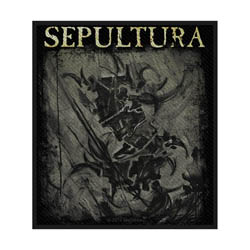 Sepultura Standard Patch: The Mediator (Loose)