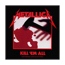 Metallica Standard Patch: Kill 'em all (Loose)