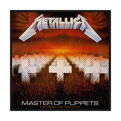 Metallica Standard Patch: Master of Puppets (Loose)