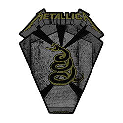 Metallica Standard Patch: Pit Boss (Loose)