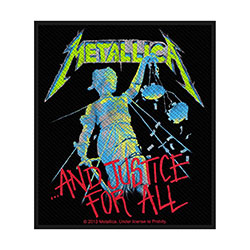 Metallica Standard Patch: And Justice for All (Loose)