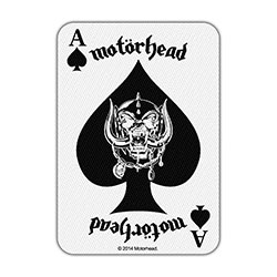 Motorhead Standard Patch: Ace of Spades Card (Loose)
