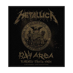 Metallica Standard Patch: Bay Area Thrash (Loose)