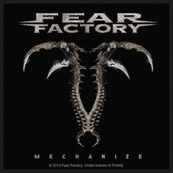 Fear Factory Standard Patch: Mechanize (Loose)