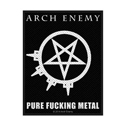 Arch Enemy Standard Patch: Pure Fucking Metal (Loose)