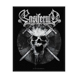 Ensiferum Standard Patch: Skull (Loose)