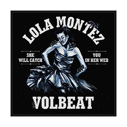 Volbeat Standard Patch: Lola Montez (Retail Pack)