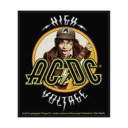 AC/DC Standard Patch: High Voltage Angus (Loose)