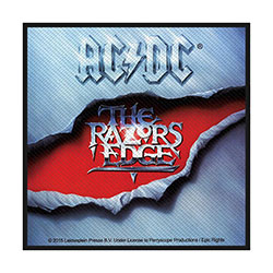 AC/DC Standard Patch: The Razors Edge (Loose)