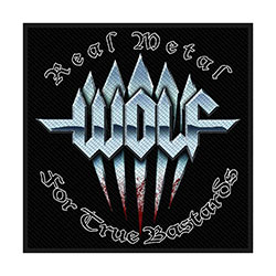 Wolf Standard Patch: Real Metal (Loose)