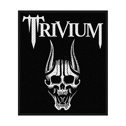Trivium Standard Patch: Screaming Skull (Loose)