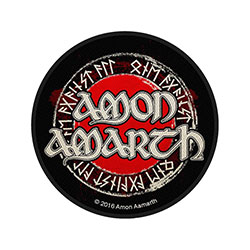 Amon Amarth Standard Patch: Logo Circular (Loose)