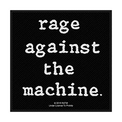 Rage Against The Machine Standard Patch: Logo (Loose)