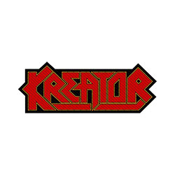 Kreator Standard Patch: Logo Cut-Out (Loose)