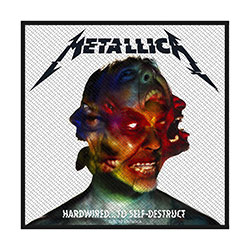 Metallica Standard Patch: Hardwired to Self Destruct (Loose)