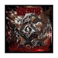 Kreator Standard Patch: Gods of Violence (Loose)