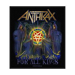 Anthrax Standard Patch: For All Kings (Loose)
