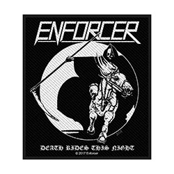 Enforcer Standard Patch: Death Rides (Loose)