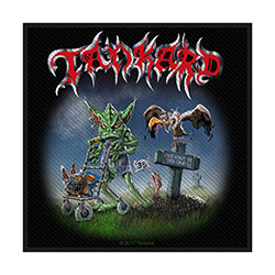 Tankard Standard Patch: One Foot in the Grave (Loose)