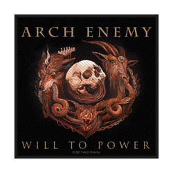 Arch Enemy Standard Patch: Will to Power (Loose)