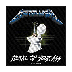 Metallica Standard Patch: Metal Up Your Ass (Loose)
