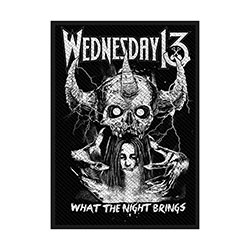 Wednesday 13 Standard Patch: What the Night Brings (Loose)