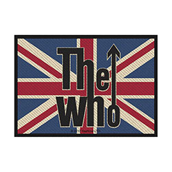 The Who Standard Patch: Union Flag Logo (Retail Pack)
