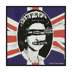 Sex Pistols Standard Patch: God Save The Queen (Retail Pack)