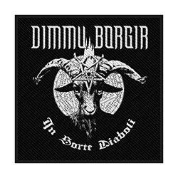Dimmu Borgir Standard Patch: In Sorte Diaboli (Retail Pack)