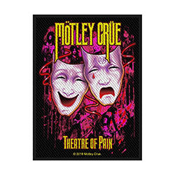 Motley Crue Standard Patch: Theatre of Pain (Loose)