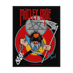 Motley Crue Standard Patch: Allister Fiend (Loose)