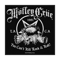 Motley Crue Standard Patch: You Can't Kill Rock n' Roll (Loose)