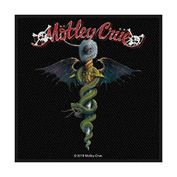 Motley Crue Standard Patch: Dr Feelgood (Loose)