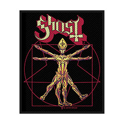 Ghost Standard Patch: The Vitruvian Ghost (Loose)