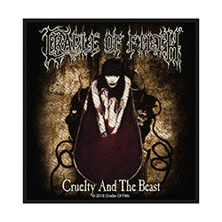 Cradle Of Filth Standard Patch: Cruelty and the Beast (Loose)