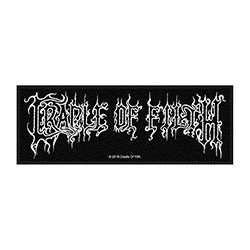 Cradle Of Filth Standard Patch: Logo (Loose)