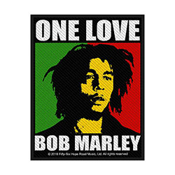 Bob Marley Standard Patch: One Love (Retail Pack)