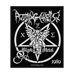 Rotting Christ Standard Patch: Black Metal (Loose)